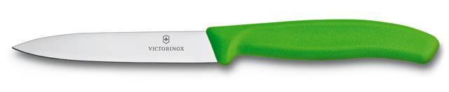 Nůž na zeleninu Victorinox 10cm 6.7706.L114 zelený
