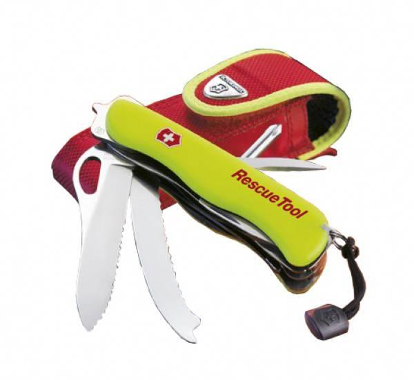 Kapesní nůž Victorinox Rescue Tool 0.8623.MWN s pouzdrem , záchranářský , hasičský , policejní