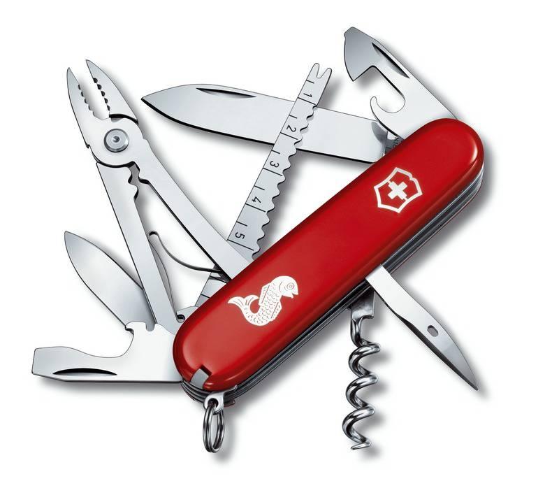 Kapesní nůž Angler Victorinox 1.3653.72 rybářský