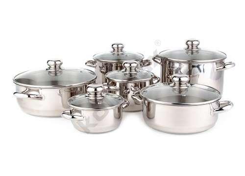 Sada nerezového nádobí Kolimax Premium 12 dílů - DOPRAVA ZDARMA - český výrobek - na indukci