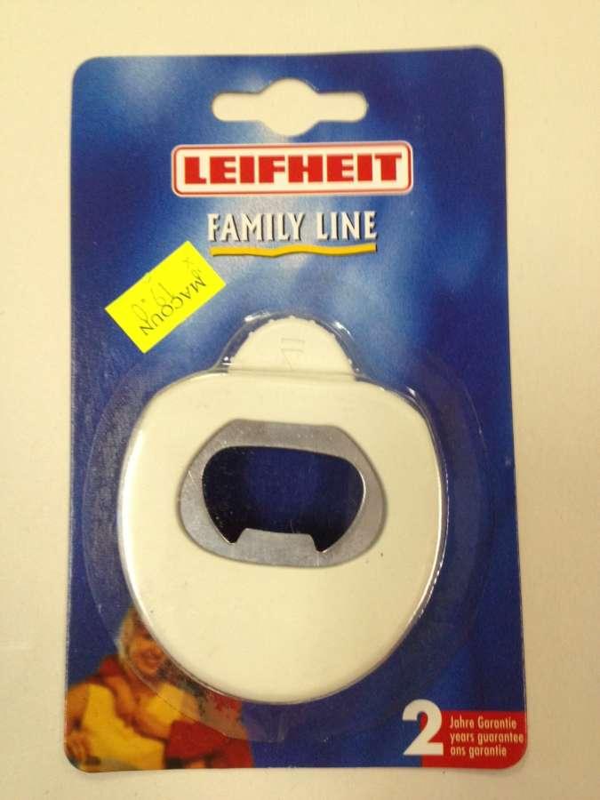 Zvedák uzávěru láhví Leifheit Family Line - s řezačem fólií - otvírák na víno