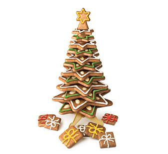 Vánoční stromeček velký DELÍCIA- souprava vykrajovátek Tescoma