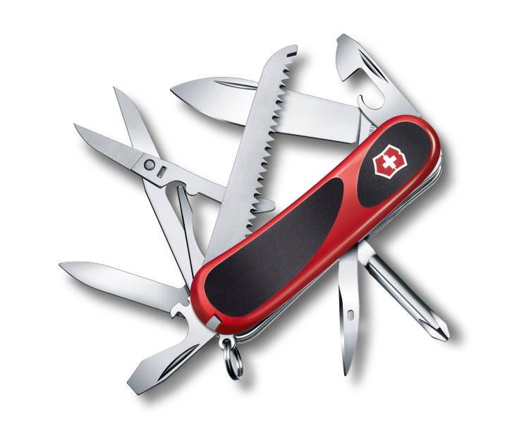 Kapesní nůž Victorinox 2.4913.C Délemont EvoGrip 18 (Wenger)