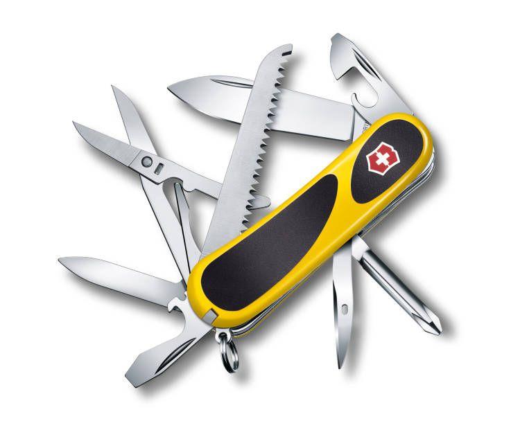 Kapesní nůž Victorinox 2.4913.C8 Délemont EvoGrip 18 (Wenger) DOPRAVA ZDARMA