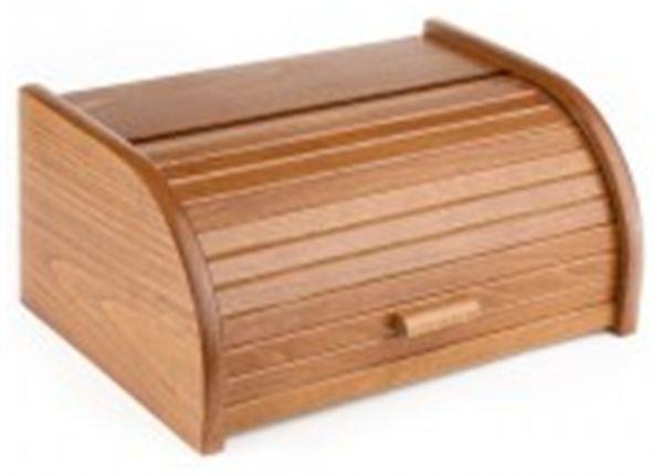 Chlebovka Kolimax z bukového dřeva - dub, lakovaná, chlebník