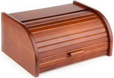 Chlebovka Kolimax z bukového dřeva - Mahagon, lakovaná, chlebník
