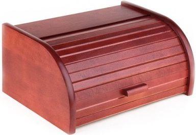 Chlebovka Kolimax z bukového dřeva - Třešeň, lakovaná, chlebník