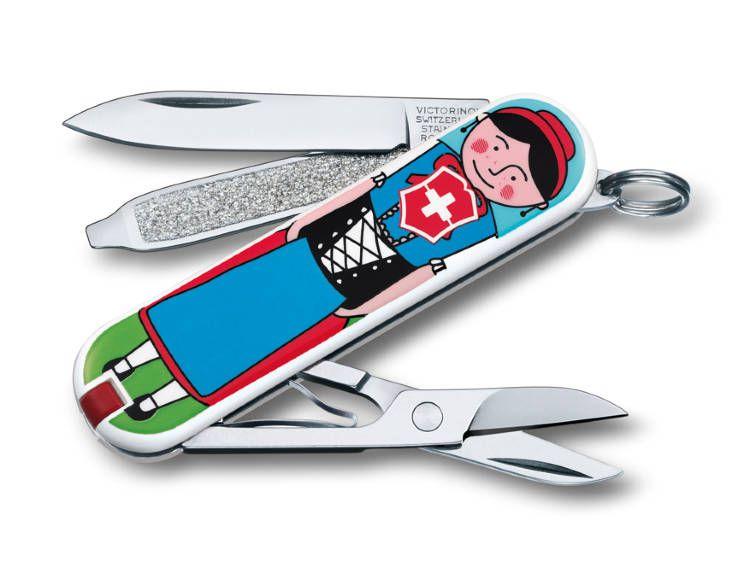 Kapesní nůž Victorinox Classic 0.6223.L1401 panáček a panenka