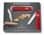 My First Victorinox - Můj první Victorinox 0.2363.T5 sada, nůž pro děti, růžový