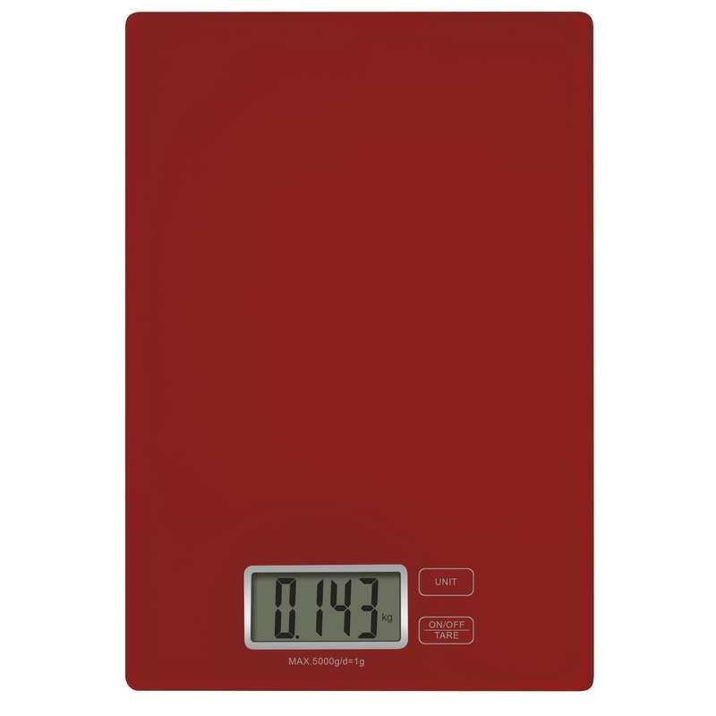 Digitální kuchyňská váha EMOS TY3101R červená