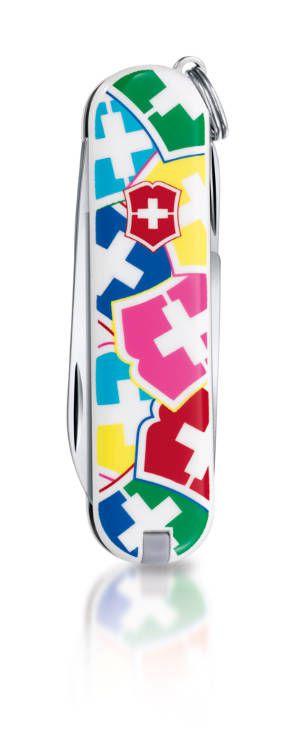 Kapesní nůž Victorinox Classic 0.6223.841 , victorinox logo , barevný