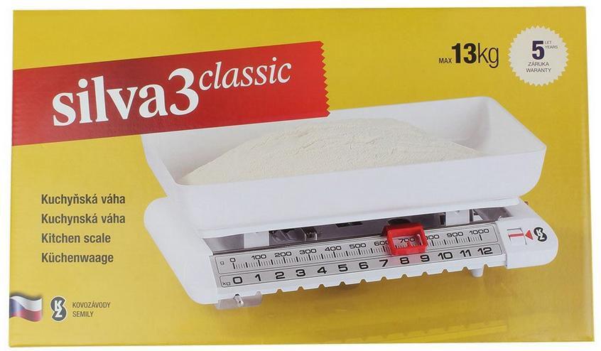 Kuchyňská mechanická víceúčelová váha Silva 3 Classic, Nostnost 13 kg Beneš a Lát a.s.