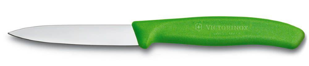 Nůž na zeleninu 8cm plast Victorinox 6.7606.L114 zelený