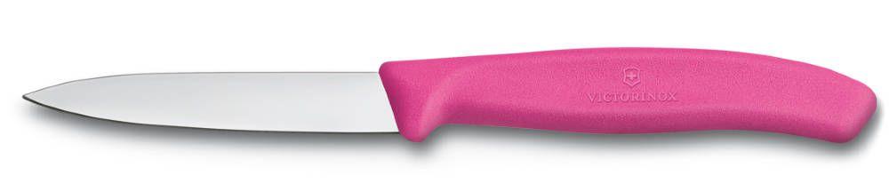 Nůž na zeleninu 8cm plast Victorinox 6.7606.L115 růžový