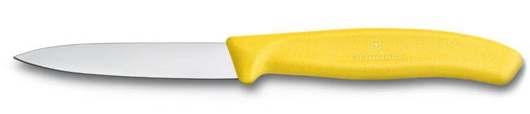 Nůž na zeleninu 8cm plast Victorinox 6.7606.L118 žlutý