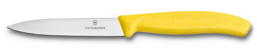 Nůž na zeleninu Victorinox 10cm 6.7706.L118 žlutý