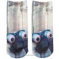 Ponožky s mopsem UeeCom - socks with pug - 1 pár vel. 36-39 Unisex