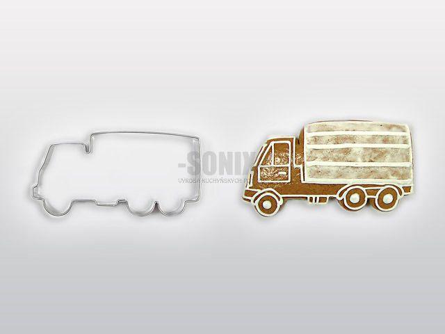 Vykrajovačka nerez nákladní auto - vykrajovátka náklaďák , automobil SONIX
