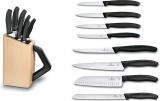 8-mi dílná kuchyňská sada nožů s blokem na nože Victorinox Swiss Classic 6.7173.8