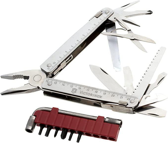 Kleště Victorinox Swiss Tool X Plus 3.0337.N s pouzdrem , swisstool , kapesní nářadí pro kutily , multifunkční dárek pro muže , profi nářadí do kapsy