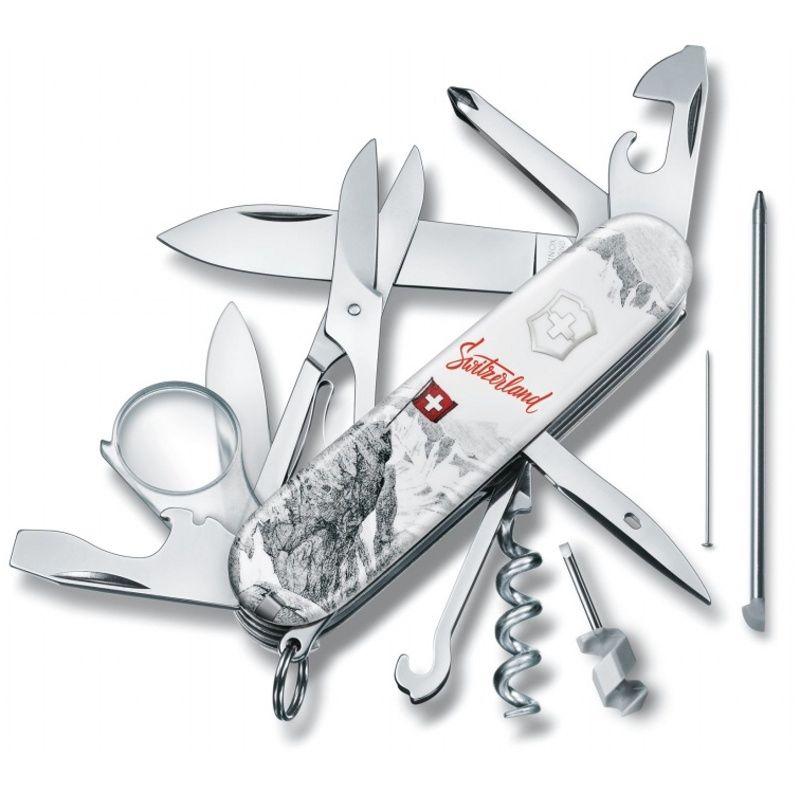 Kapesní nůž Explorer Swiss Spirit 2020 Victorinox 1.6705.7L20 Limitovaná edice švýcarsko , switzerland