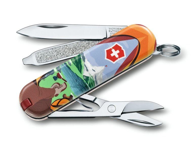 Kapesní nůž Victorinox Classic 0.6223.L1802 Call of Nature , volání přírody