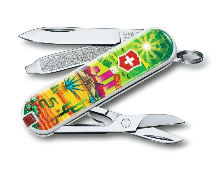 Kapesní nůž Victorinox Classic 0.6223.L1807 Mexican Sunset , Mexický západ slunce , Maxiko , Tequilla