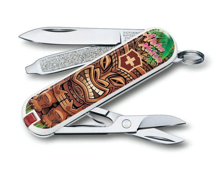 Kapesní nůž Victorinox Classic 0.6223.L1809 Aloha Kakou , Hawai, léto