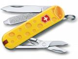 Kapesní nůž Victorinox Classic 0.6223.L1902 Alps Cheese , cow , kráva a sýr