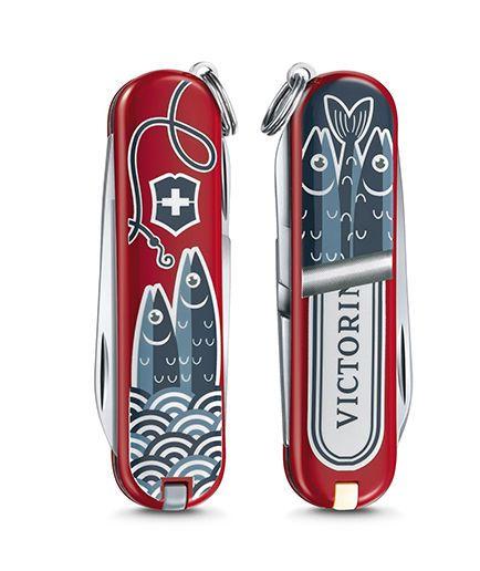 Kapesní nůž Victorinox Classic 0.6223.L1902 Sardine can , sardinky , ryby