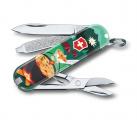 Kapesní nůž Victorinox Classic 0.6223.L1907 Swiss mountain dinner , camp , trump , kempování , večeře v horách