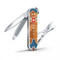 Kapesní nůž Victorinox Classic 0.6223.L1909 Gingerbread love , zamilovaný perník , perníček , perníková láska