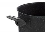 KOLIMAX Hrnec BLACK GRANITEC s poklicí, průměr 22cm, objem 4.5l