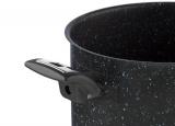 KOLIMAX Hrnec BLACK GRANITEC s poklicí, průměr 26cm, objem 8.0l