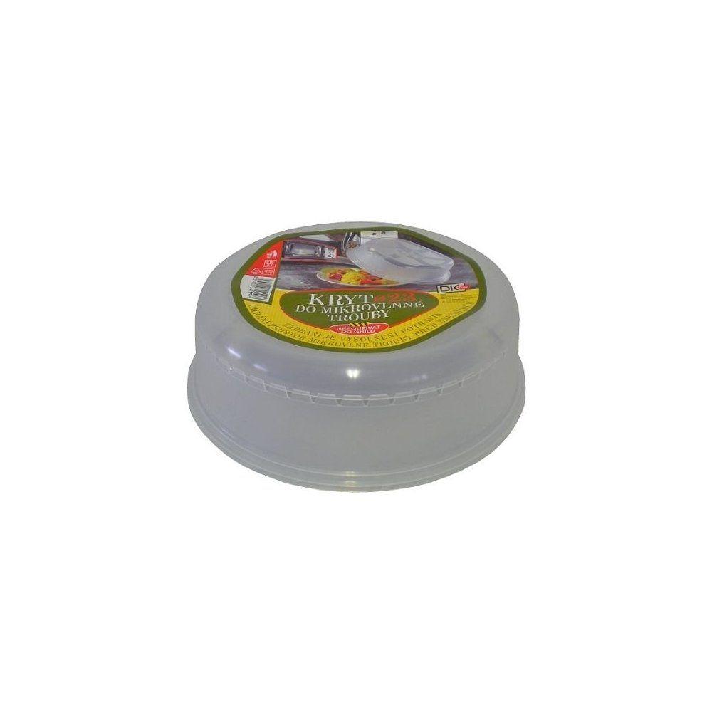 Kryt do mikrovlnné trouby DK Plast 23cm , poklop do mikrovlnky Tescoma