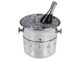 Kuchyňská minutka chlazené Champagne v kyblíku