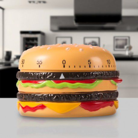 Kuchyňská minutka hamburger BigMac - časovač do kuchyně, cheeseburger