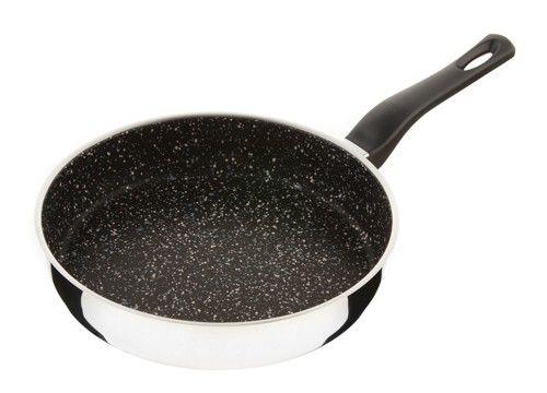 Pánev Flonax Standard s nepřilnavým povrchem, s rukojetí, 26cm Kolimax černý granit