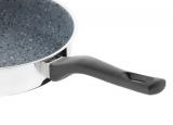 Pánev Flonax Standard s nepřilnavým povrchem, s rukojetí, 22cm Kolimax šedý granit