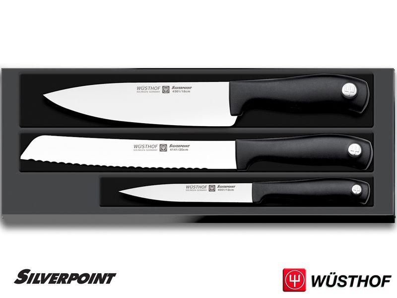 Sada nožů Silverpoint Wüsthof Dreizack Solingen 3 ks , 1135160304 Wüsthof Solingen