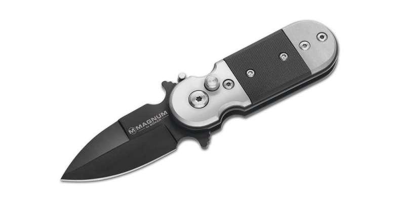 Kapesní nůž Böker Magnum Black Lightning - vystřelovací nůž 01SC148 Böker - Solingen