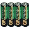 Tužkové baterie AA GP GreenCell Zinkové 4ks