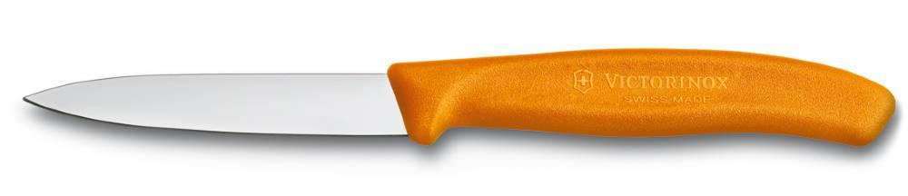 Nůž na zeleninu 8cm plast Victorinox 6.7606.L119 oranžový