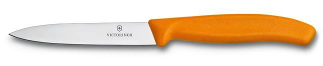 Nůž na zeleninu Victorinox 10cm 6.7706.L119 oranžový