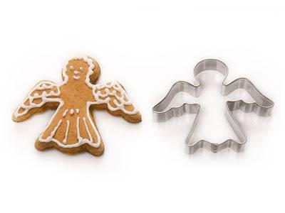 Vykrajovačka nerez anděl - andělíček vykrajovátka Kovovýroba