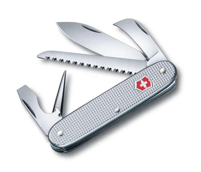 Kapesní nůž ribbed Alox silver 0.8150.26 Victorinox
