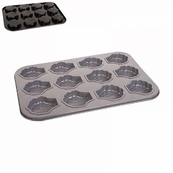 Forma na pečení - mušličky, tlapičky - Pracky Cook Orion s keramickým nepřilnavým povrchem