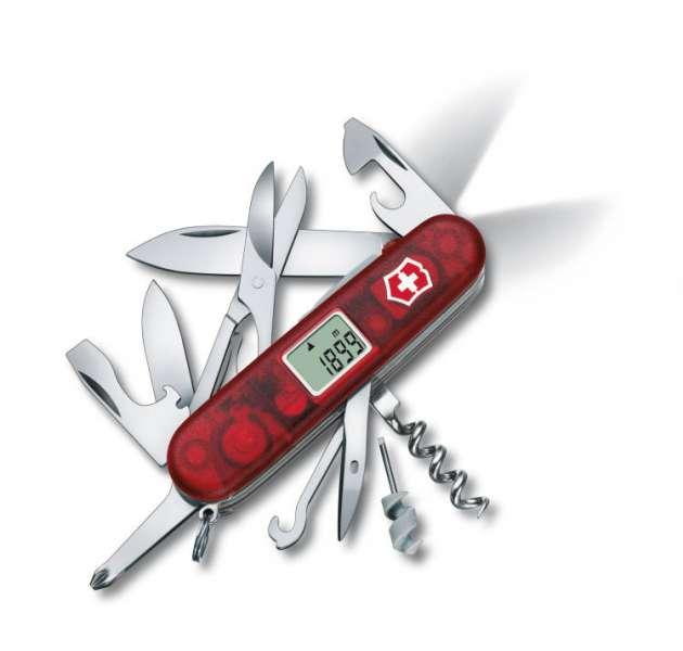 Kapesní nůž Victorinox Traveller lite DOPRAVA ZDARMA !!! 1.7905.AVT - hodiny, barometr, teploměr, LED světlo, výškoměr, stopky, alarm...