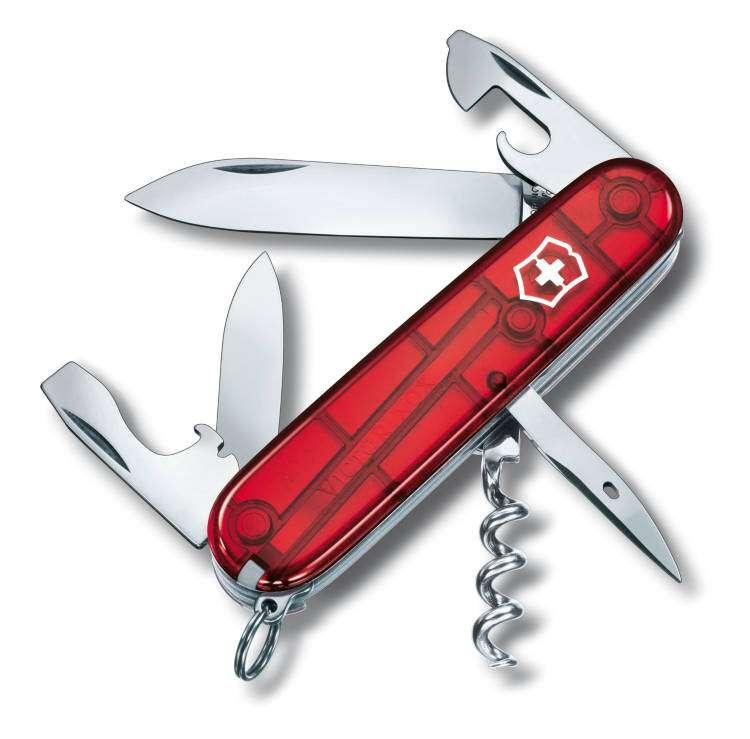 Kapesní nůž Victorinox Spartan 1.3603.T červený transparentní