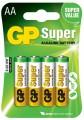 Tužkové baterie AA GP Alkalické 4ks